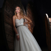 Wedding Dresses, Sweetheart Wedding Dresses, A-line Wedding Dresses, Fashion, Sweetheart, A-line, Beading, Natural waist, Impression bridal, sweep train, Beaded Wedding Dresses