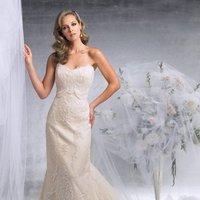 Wedding Dresses, Sweetheart Wedding Dresses, Fashion, Mermaid, Sweetheart, Strapless, Strapless Wedding Dresses, Satin, James clifford collection, chapel train, empire waist, satin wedding dresses