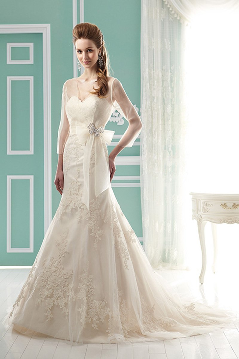 Wedding Dresses, Sweetheart Wedding Dresses, Mermaid Wedding Dresses, Lace Wedding Dresses, Vintage Wedding Dresses, Fashion, ivory, Spring, Summer, Vintage, Classic, Shabby Chic, Lace, Sweetheart, Strapless, Strapless Wedding Dresses, Floor, Natural, Sleeveless, Jasmine collection, Mermaid/Trumpet, Sash/Belt, trumpet wedding dresses, Spring Wedding Dresses, Classic Wedding Dresses, Summer Wedding Dresses, Floor Wedding Dresses, Shabby Chic Wedding Dresses, Sash Wedding Dresses, Belt Wedding Dresses