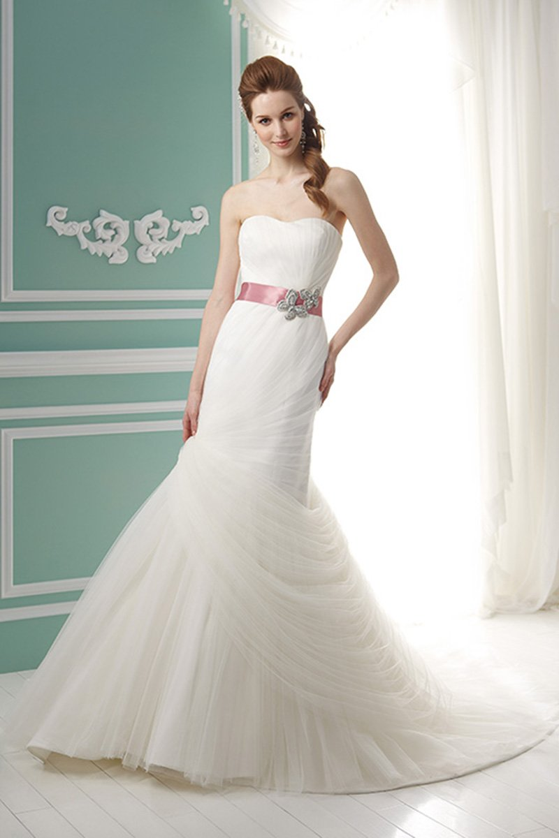 Wedding Dresses, Sweetheart Wedding Dresses, Mermaid Wedding Dresses, Fashion, white, Spring, Summer, Modern, Sweetheart, Strapless, Strapless Wedding Dresses, Tulle, Floor, Chiffon, Formal, Natural, Modest, Sleeveless, Jasmine collection, Mermaid/Trumpet, Sash/Belt, Modern Wedding Dresses, trumpet wedding dresses, Spring Wedding Dresses, tulle wedding dresses, Chiffon Wedding Dresses, Formal Wedding Dresses, Summer Wedding Dresses, Floor Wedding Dresses, Modest Wedding Dresses, Sash Wedding Dresses, Belt Wedding Dresses