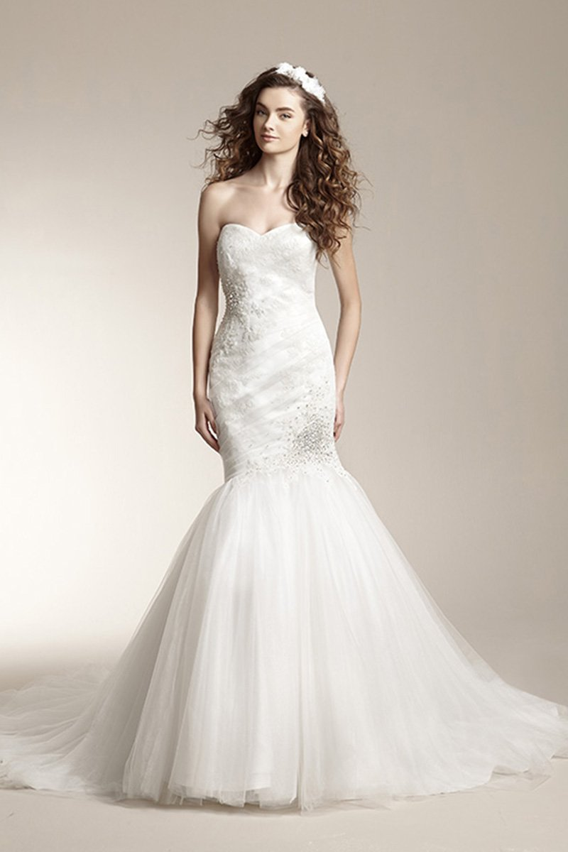Wedding Dresses, Fashion, Beading, Classic, Fall, Floor, Jasmine collection, Lace, Mermaid/Trumpet, Natural, Romantic, Sleeveless, Strapless, Sweetheart, Tulle, Vintage, white, Winter, Strapless Wedding Dresses, Sweetheart Wedding Dresses, Floor Wedding Dresses, Beaded Wedding Dresses, Lace Wedding Dresses, tulle wedding dresses, Fall Wedding Dresses, winter wedding dresses, Classic Wedding Dresses, Romantic Wedding Dresses, Vintage Wedding Dresses, trumpet wedding dresses, Mermaid Wedding Dresses