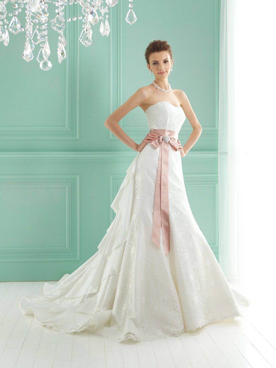 Wedding Dresses, Sweetheart Wedding Dresses, A-line Wedding Dresses, Romantic Wedding Dresses, Fashion, white, ivory, pink, Classic, Romantic, Sweetheart, Strapless, Strapless Wedding Dresses, A-line, Floor, Formal, Taffeta, Sleeveless, Jasmine collection, Sash/Belt, taffeta wedding dresses, Classic Wedding Dresses, Formal Wedding Dresses, Floor Wedding Dresses, Sash Wedding Dresses, Belt Wedding Dresses