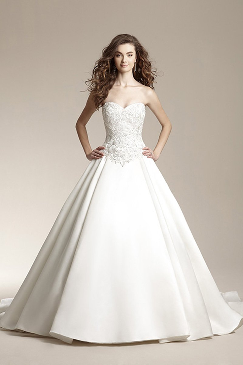 Wedding Dresses, Sweetheart Wedding Dresses, Ball Gown Wedding Dresses, Lace Wedding Dresses, Romantic Wedding Dresses, Fashion, ivory, Fall, Winter, Modern, Shabby Chic, Romantic, Lace, Sweetheart, Strapless, Strapless Wedding Dresses, Beading, Satin, Floor, Formal, Organza, Natural, Sleeveless, Ball gown, Jasmine collection, Modern Wedding Dresses, Beaded Wedding Dresses, organza wedding dresses, winter wedding dresses, satin wedding dresses, Fall Wedding Dresses, Formal Wedding Dresses, Floor Wedding Dresses, Shabby Chic Wedding Dresses