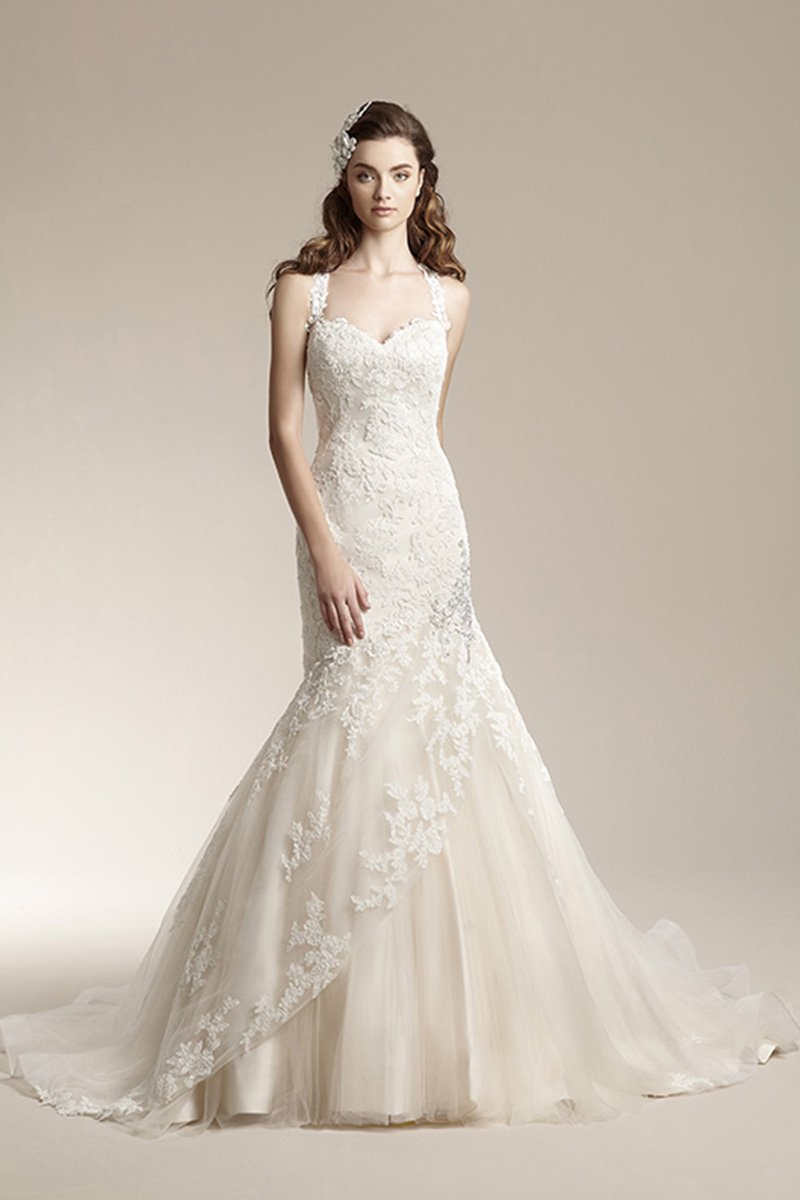 Wedding Dresses, Sweetheart Wedding Dresses, Mermaid Wedding Dresses, Lace Wedding Dresses, Romantic Wedding Dresses, Vintage Wedding Dresses, Fashion, ivory, Fall, Winter, Vintage, Shabby Chic, Romantic, Lace, Sweetheart, Beading, Tulle, Floor, Modest, Sleeveless, Basque, Jasmine collection, Mermaid/Trumpet, Beaded Wedding Dresses, trumpet wedding dresses, tulle wedding dresses, winter wedding dresses, Fall Wedding Dresses, Floor Wedding Dresses, Modest Wedding Dresses, Shabby Chic Wedding Dresses