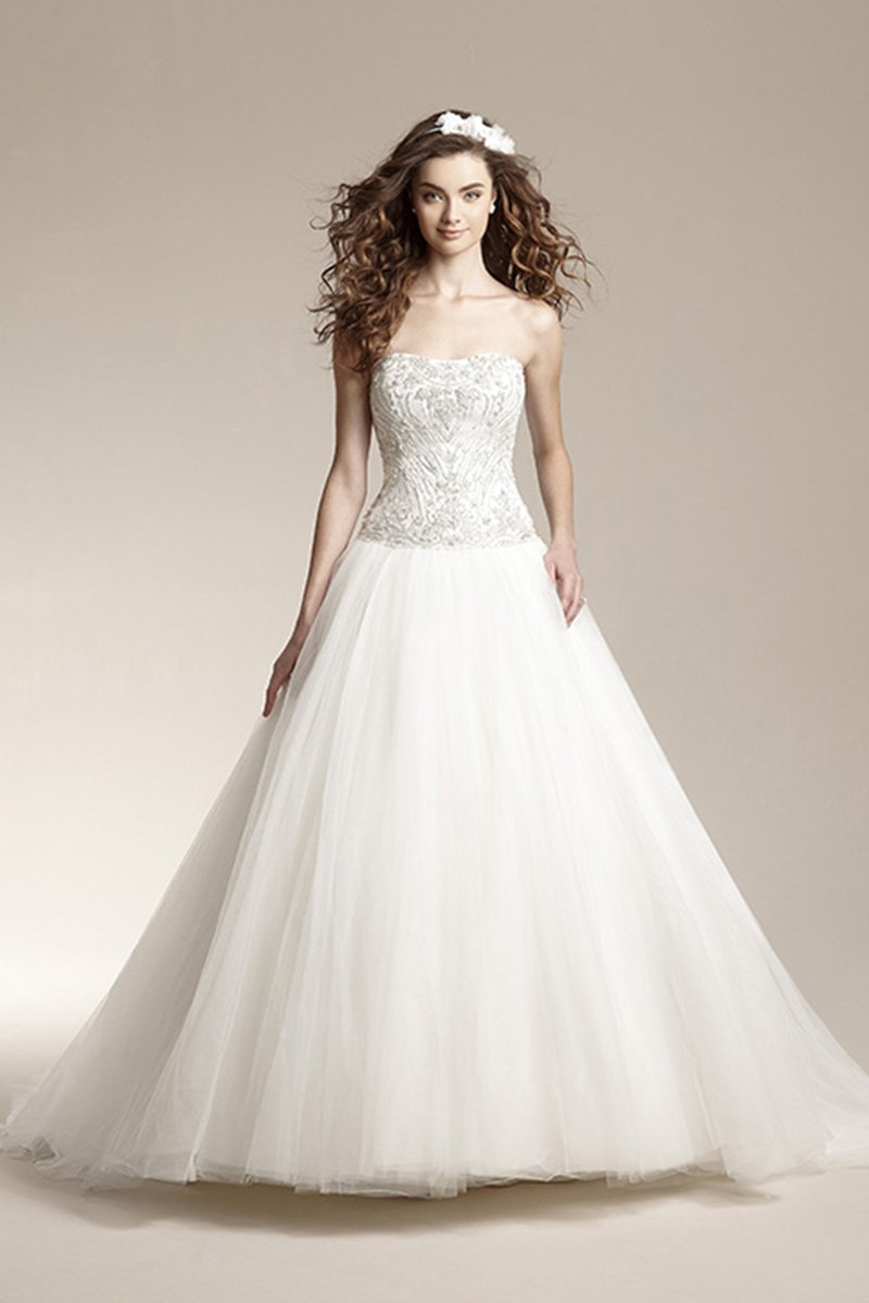 Wedding Dresses, Ball Gown Wedding Dresses, Romantic Wedding Dresses, Fashion, ivory, Fall, Winter, Modern, Classic, Romantic, Strapless, Strapless Wedding Dresses, Beading, Tulle, Floor, Natural, Sleeveless, Ball gown, Jasmine collection, Modern Wedding Dresses, Beaded Wedding Dresses, Classic Wedding Dresses, tulle wedding dresses, winter wedding dresses, Fall Wedding Dresses, Floor Wedding Dresses