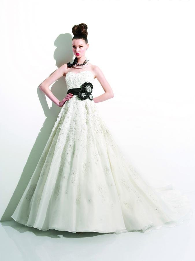 Wedding Dresses, Sweetheart Wedding Dresses, A-line Wedding Dresses, Hollywood Glam Wedding Dresses, Fashion, white, ivory, black, Flowers, Sweetheart, Strapless, Strapless Wedding Dresses, A-line, Beading, Empire, Satin, Floor, Organza, Taffeta, Sleeveless, Jasmine couture, Sash/Belt, hollywood glam, Beaded Wedding Dresses, organza wedding dresses, taffeta wedding dresses, satin wedding dresses, Flower Wedding Dresses, Floor Wedding Dresses, Sash Wedding Dresses, Belt Wedding Dresses