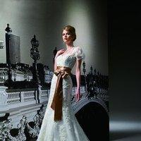 Wedding Dresses, Sweetheart Wedding Dresses, A-line Wedding Dresses, Lace Wedding Dresses, Romantic Wedding Dresses, Fashion, white, ivory, brown, Romantic, Lace, Sweetheart, Strapless, Strapless Wedding Dresses, A-line, Beading, Floor, Formal, Organza, Sleeveless, Jasmine couture, cap sleeve, Jacket/Bolero, Beaded Wedding Dresses, organza wedding dresses, Formal Wedding Dresses, Floor Wedding Dresses