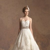 Wedding Dresses, Sweetheart Wedding Dresses, A-line Wedding Dresses, Ruffled Wedding Dresses, Lace Wedding Dresses, Romantic Wedding Dresses, Fashion, ivory, Fall, Winter, Rustic, Shabby Chic, Romantic, Lace, Sweetheart, Strapless, Strapless Wedding Dresses, A-line, Floor, Organza, Natural, Ruffles, Sleeveless, Jasmine couture, Sash/Belt, rustic wedding dresses, organza wedding dresses, winter wedding dresses, Fall Wedding Dresses, Floor Wedding Dresses, Shabby Chic Wedding Dresses, Sash Wedding Dresses, Belt Wedding Dresses