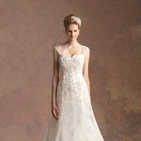 Wedding Dresses, Sweetheart Wedding Dresses, A-line Wedding Dresses, Lace Wedding Dresses, Romantic Wedding Dresses, Fashion, ivory, Fall, Winter, Classic, Shabby Chic, Romantic, Lace, Sweetheart, Strapless, Strapless Wedding Dresses, A-line, Beading, Tulle, Floor, Chiffon, Formal, Natural, Jasmine couture, cap sleeve, Beaded Wedding Dresses, Classic Wedding Dresses, tulle wedding dresses, winter wedding dresses, Fall Wedding Dresses, Chiffon Wedding Dresses, Formal Wedding Dresses, Floor Wedding Dresses, Shabby Chic Wedding Dresses