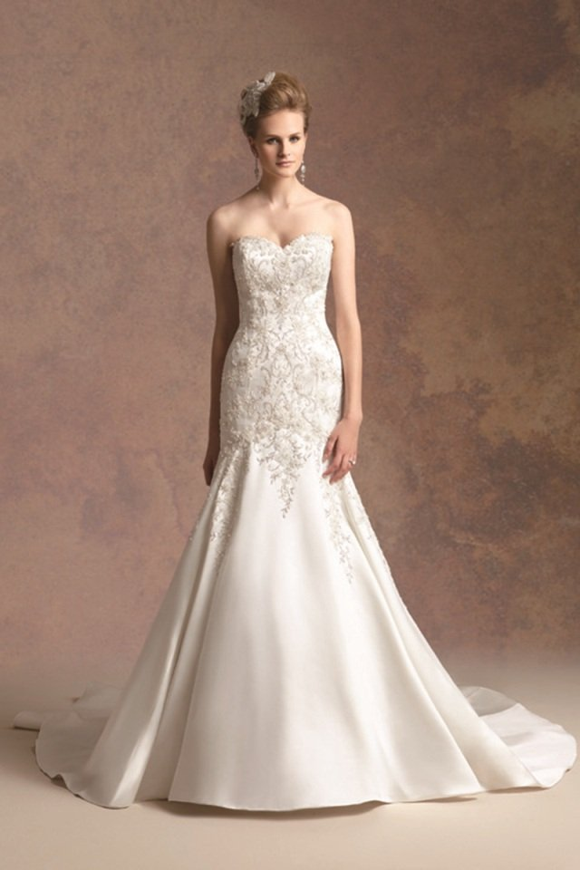 Wedding Dresses, Sweetheart Wedding Dresses, Mermaid Wedding Dresses, Romantic Wedding Dresses, Fashion, ivory, Fall, Winter, Romantic, Sweetheart, Strapless, Strapless Wedding Dresses, Beading, Satin, Floor, Formal, Natural, Hip, Sleeveless, Jasmine couture, Mermaid/Trumpet, Beaded Wedding Dresses, trumpet wedding dresses, winter wedding dresses, satin wedding dresses, Fall Wedding Dresses, Formal Wedding Dresses, Floor Wedding Dresses, Hip Wedding Dresses