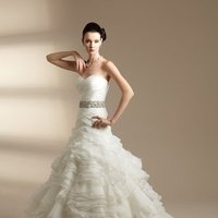 Wedding Dresses, Sweetheart Wedding Dresses, A-line Wedding Dresses, Ball Gown Wedding Dresses, Ruffled Wedding Dresses, Fashion, white, ivory, Shabby Chic, Sweetheart, Strapless, Strapless Wedding Dresses, A-line, Beading, Floor, Organza, Ruffles, Sleeveless, Ball gown, Jasmine couture, Sash/Belt, Beaded Wedding Dresses, organza wedding dresses, Floor Wedding Dresses, Shabby Chic Wedding Dresses, Sash Wedding Dresses, Belt Wedding Dresses