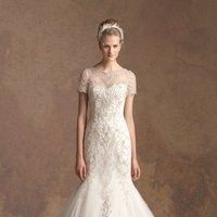 Wedding Dresses, Sweetheart Wedding Dresses, Mermaid Wedding Dresses, Lace Wedding Dresses, Romantic Wedding Dresses, Fashion, white, Fall, Winter, Romantic, Lace, Sweetheart, Beading, Tulle, Floor, Formal, Natural, Modest, Jasmine couture, Mermaid/Trumpet, short sleeve, Beaded Wedding Dresses, trumpet wedding dresses, tulle wedding dresses, winter wedding dresses, Fall Wedding Dresses, Formal Wedding Dresses, Floor Wedding Dresses, Modest Wedding Dresses