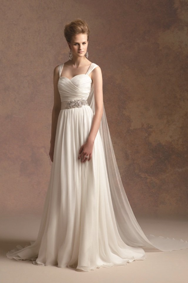 Wedding Dresses, Sweetheart Wedding Dresses, A-line Wedding Dresses, Romantic Wedding Dresses, Fashion, ivory, Fall, Winter, Romantic, Sweetheart, A-line, Spaghetti straps, Beading, Floor, Formal, Natural, Silk, Modest, Sleeveless, Ruching, Jasmine couture, Nautical/Preppy, Beaded Wedding Dresses, winter wedding dresses, Fall Wedding Dresses, Spahetti Strap Wedding Dresses, Formal Wedding Dresses, Silk Wedding Dresses, Floor Wedding Dresses, Modest Wedding Dresses