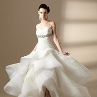 Wedding Dresses, Fashion, A-line, Beading, Floor, Formal, hollywood glam, ivory, Jasmine couture, Organza, Ruffles, Sleeveless, Strapless, Sweetheart, white, Strapless Wedding Dresses, Sweetheart Wedding Dresses, Floor Wedding Dresses, Beaded Wedding Dresses, Ruffled Wedding Dresses, organza wedding dresses, Formal Wedding Dresses, Hollywood Glam Wedding Dresses, A-line Wedding Dresses