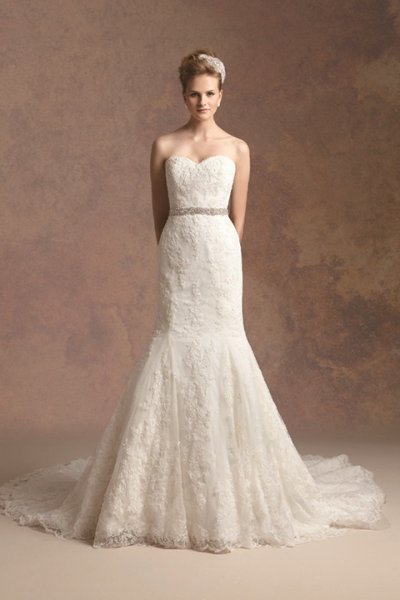 Wedding Dresses, Sweetheart Wedding Dresses, Mermaid Wedding Dresses, Lace Wedding Dresses, Romantic Wedding Dresses, Vintage Wedding Dresses, Fashion, ivory, Fall, Winter, Vintage, Classic, Romantic, Lace, Sweetheart, Strapless, Strapless Wedding Dresses, Floor, Formal, Natural, Sleeveless, Jasmine couture, Mermaid/Trumpet, trumpet wedding dresses, Classic Wedding Dresses, winter wedding dresses, Fall Wedding Dresses, Formal Wedding Dresses, Floor Wedding Dresses