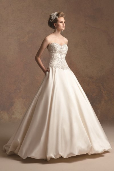 Wedding Dresses, Sweetheart Wedding Dresses, A-line Wedding Dresses, Romantic Wedding Dresses, Hollywood Glam Wedding Dresses, Fashion, ivory, Fall, Winter, Romantic, Sweetheart, Strapless, Strapless Wedding Dresses, A-line, Beading, Floor, Chiffon, Formal, Natural, Modest, Sleeveless, Jasmine couture, hollywood glam, Beaded Wedding Dresses, winter wedding dresses, Fall Wedding Dresses, Chiffon Wedding Dresses, Formal Wedding Dresses, Floor Wedding Dresses, Modest Wedding Dresses
