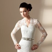 Wedding Dresses, Sweetheart Wedding Dresses, Lace Wedding Dresses, Vintage Wedding Dresses, Fashion, white, ivory, Vintage, Lace, Sweetheart, Strapless, Strapless Wedding Dresses, Beading, Sheath, Satin, Floor, Organza, Long sleeve, Sleeveless, Jasmine couture, Sash/Belt, Jacket/Bolero, Beaded Wedding Dresses, organza wedding dresses, satin wedding dresses, Sheath Wedding Dresses, Floor Wedding Dresses, Sash Wedding Dresses, Belt Wedding Dresses