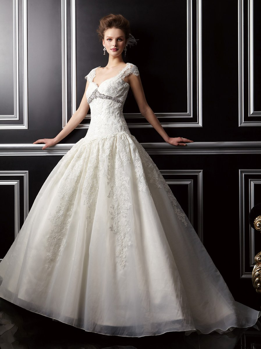 Wedding Dresses, Sweetheart Wedding Dresses, Ball Gown Wedding Dresses, Lace Wedding Dresses, Vintage Wedding Dresses, Fashion, white, ivory, Vintage, Lace, Sweetheart, Off the shoulder, Floor, Formal, Organza, Pleats, Ball gown, Jasmine couture, cap sleeve, Off the Shoulder Wedding Dresses, organza wedding dresses, Formal Wedding Dresses, Floor Wedding Dresses