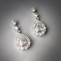 Jewelry, Earrings, Fashion Jewelry, Wedding Day Jewelry