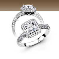 Jewelry, Women's Rings, Engagement Rings, Princess Cut Engagement Ring