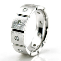 Jewelry, White Gold, Platinum, Wedding Bands, Wedding Rings, Diamonds, Men's Wedding Rings