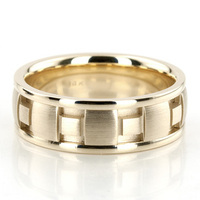 Jewelry, Yellow Gold, Wedding Bands, Wedding Rings, Men's Wedding Rings