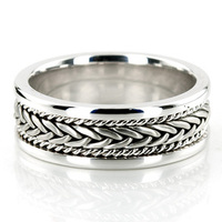 Jewelry, White Gold, Platinum, Wedding Bands, Wedding Rings, Men's Wedding Rings