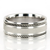 Jewelry, White Gold, Platinum, Wedding Bands, Titanium, Men's Wedding Rings
