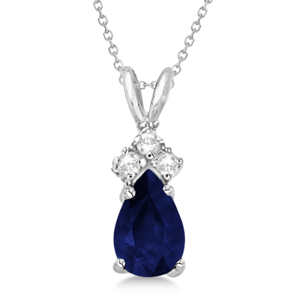 Jewelry, blue, Necklaces, Wedding Day Jewelry, Sapphire, Diamonds