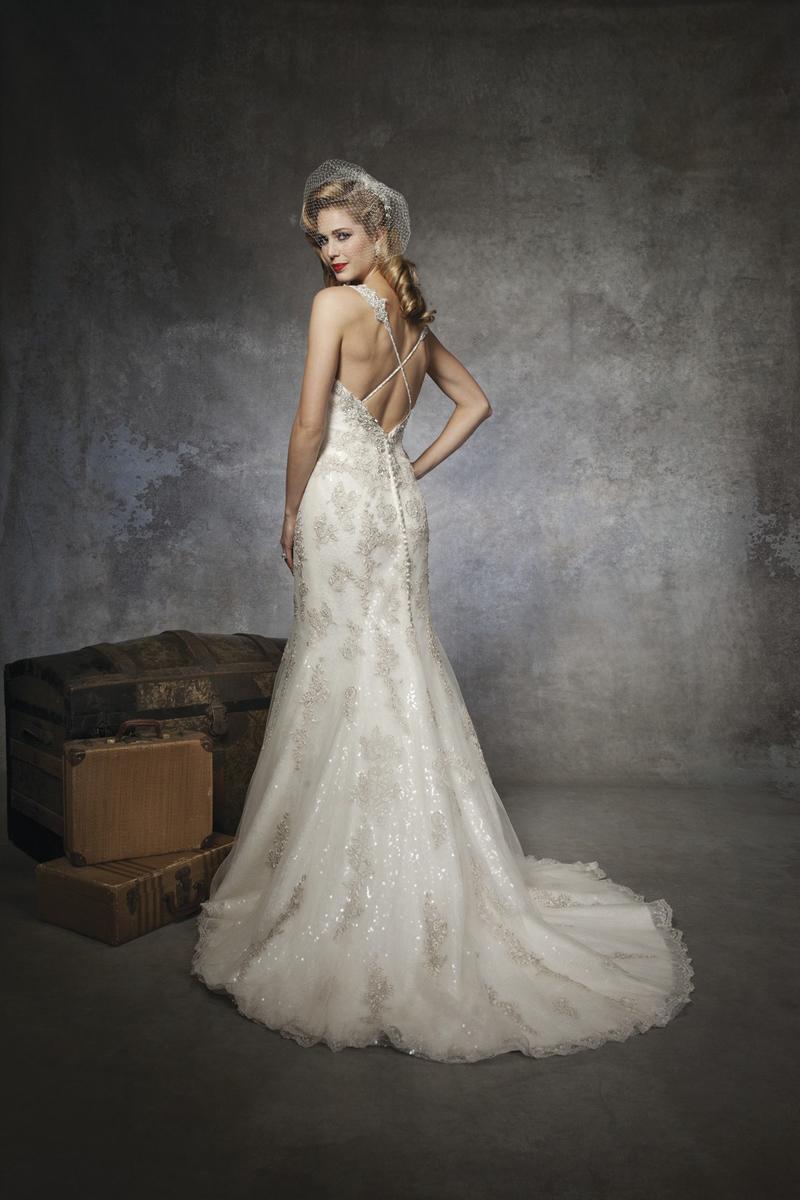 Sweetheart Wedding Dresses, A-line Wedding Dresses, Lace Wedding Dresses, Hollywood Glam Wedding Dresses, Fashion, white, Lace, Sweetheart, A-line, Beading, Wedding dress, Justin Alexander, hollywood glam, Beaded Wedding Dresses
