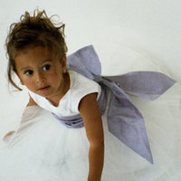 Flower Girl Dresses, Ball Gown Wedding Dresses, Fashion, Empire, Ribbons, Sashes, Silk, Ball gown, Katina katoo, ankle length, fall 2012, bataeu, Silk Wedding Dresses