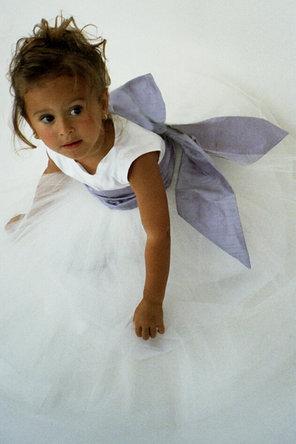 Flower Girl Dresses, Ball Gown Wedding Dresses, Fashion, Empire, Ribbons, Sashes, Silk, Ball gown, Katina katoo, ankle length, fall 2012, bataeu, Silk Wedding Dresses