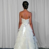 Wedding Dresses, Sweetheart Wedding Dresses, Ball Gown Wedding Dresses, Fashion, ivory, Modern, Sweetheart, Strapless, Strapless Wedding Dresses, Beading, Floor, Organza, Natural, Ballroom, Pleats, Ruching, Ball gown, Sash/Belt, Modern Wedding Dresses, Kelly Faetanini, Beaded Wedding Dresses, organza wedding dresses, Floor Wedding Dresses, Sash Wedding Dresses, Belt Wedding Dresses