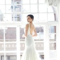Wedding Dresses, Mermaid Wedding Dresses, Lace Wedding Dresses, Vintage Wedding Dresses, Fashion, ivory, Vintage, Classic, Vineyard, Lace, Beading, V-neck, V-neck Wedding Dresses, Floor, Country, Natural, Sleeveless, Fit-n-Flare, historic site, Kelly Faetanini, Beaded Wedding Dresses, Classic Wedding Dresses, Floor Wedding Dresses