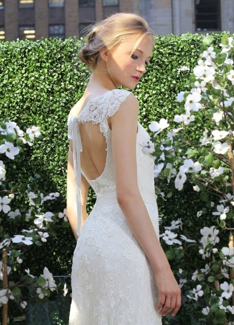 Wedding Dresses, Lace Wedding Dresses, Romantic Wedding Dresses, Vintage Wedding Dresses, Fashion, ivory, Vintage, Vineyard, Shabby Chic, Romantic, Lace, Sheath, Floor, Country, Natural, Sash/Belt, cap sleeve, Queen Anne, Kelly Faetanini, Sheath Wedding Dresses, Floor Wedding Dresses, Shabby Chic Wedding Dresses, Sash Wedding Dresses, Belt Wedding Dresses, Queen Anne Wedding Dresses