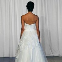Wedding Dresses, Ball Gown Wedding Dresses, Romantic Wedding Dresses, Fashion, ivory, Romantic, Strapless, Strapless Wedding Dresses, Beading, Tulle, Floor, Formal, Country, Natural, Ballroom, Tiers, Ball gown, historic site, Kelly Faetanini, Beaded Wedding Dresses, tulle wedding dresses, Formal Wedding Dresses, Floor Wedding Dresses, Tiered Wedding Dresses