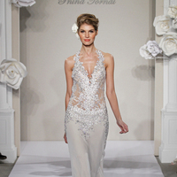 Wedding Dresses, Hollywood Glam Wedding Dresses, Fashion, ivory, Spring, Summer, Beading, V-neck, V-neck Wedding Dresses, Sheath, Floor, Chiffon, Formal, Natural, Silk, Hip, Sleeveless, Pnina tornai, Kleinfeld, Avant-Garde, hollywood glam, Beaded Wedding Dresses, Spring Wedding Dresses, Sheath Wedding Dresses, Chiffon Wedding Dresses, Formal Wedding Dresses, Silk Wedding Dresses, Summer Wedding Dresses, Floor Wedding Dresses, Hip Wedding Dresses