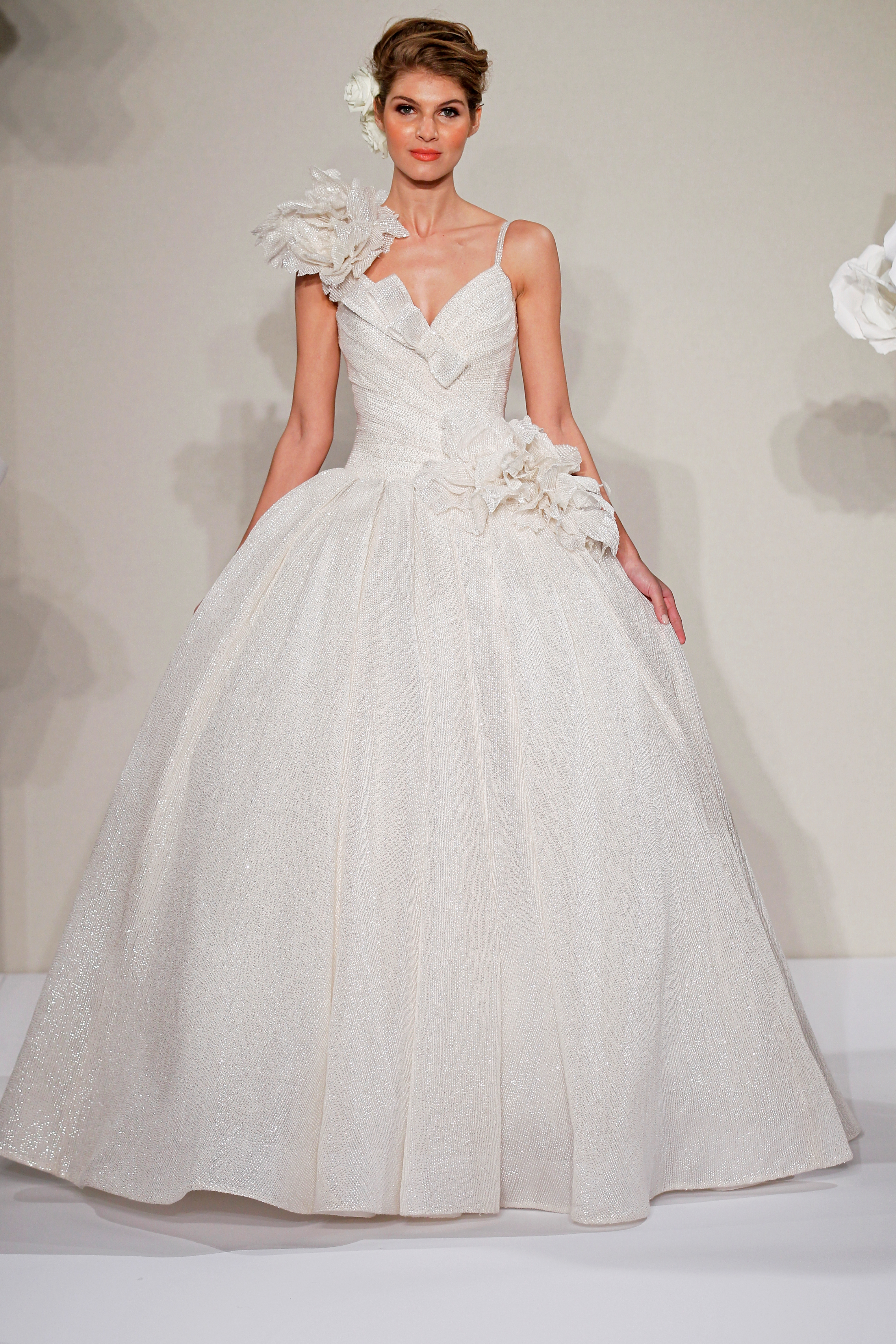 Sweetheart Ball Gown in Silk This ball gown features a