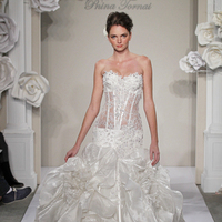 Wedding Dresses, Sweetheart Wedding Dresses, Ball Gown Wedding Dresses, Ruffled Wedding Dresses, Lace Wedding Dresses, Hollywood Glam Wedding Dresses, Fashion, white, ivory, Shabby Chic, Lace, Sweetheart, Beading, Floor, Formal, Silk, Ruffles, Tiers, Dropped, Sleeveless, Pnina tornai, Ball gown, hollywood glam, Beaded Wedding Dresses, Formal Wedding Dresses, Silk Wedding Dresses, Floor Wedding Dresses, Shabby Chic Wedding Dresses, Tiered Wedding Dresses