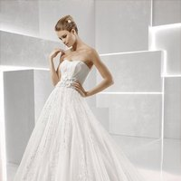 Wedding Dresses, Sweetheart Wedding Dresses, Ball Gown Wedding Dresses, Lace Wedding Dresses, Romantic Wedding Dresses, Fashion, white, ivory, Classic, Flowers, Romantic, Lace, Sweetheart, Strapless, Strapless Wedding Dresses, Empire, Tulle, Floor, Formal, La sposa, Sleeveless, Ball gown, Classic Wedding Dresses, tulle wedding dresses, Flower Wedding Dresses, Formal Wedding Dresses, Floor Wedding Dresses