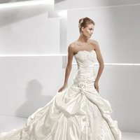 Wedding Dresses, Sweetheart Wedding Dresses, Ball Gown Wedding Dresses, Lace Wedding Dresses, Fashion, white, ivory, Classic, Flowers, Lace, Sweetheart, Strapless, Strapless Wedding Dresses, Beading, Formal, Organza, Dropped, La sposa, Pleats, Sleeveless, Ball gown, Beaded Wedding Dresses, organza wedding dresses, Classic Wedding Dresses, Flower Wedding Dresses, Formal Wedding Dresses