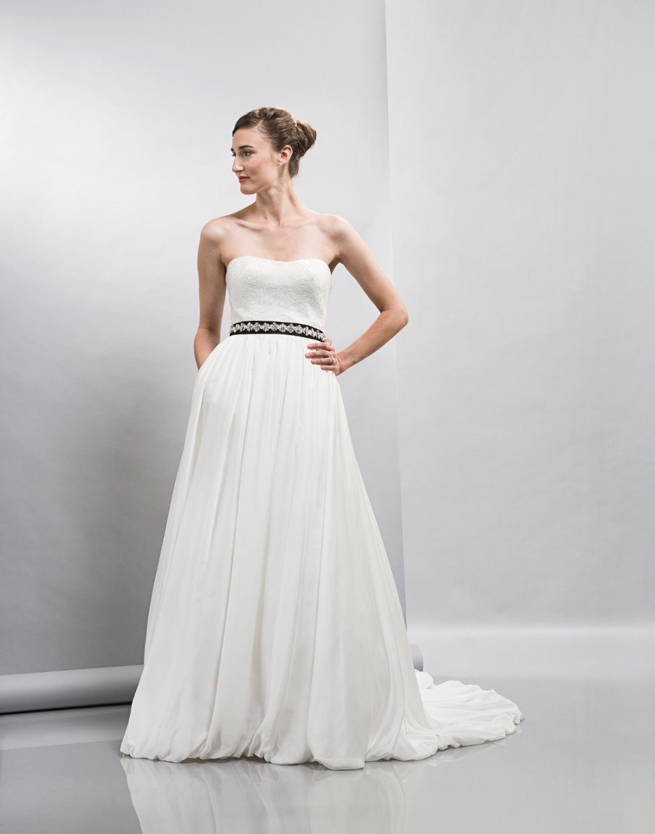 Wedding Dresses, A-line Wedding Dresses, Ball Gown Wedding Dresses, Lace Wedding Dresses, Romantic Wedding Dresses, Fashion, white, ivory, Spring, Modern, Romantic, Lace, Strapless, Strapless Wedding Dresses, A-line, Satin, Floor, Formal, Natural, Sleeveless, Ball gown, Lis simon, Sash/Belt, Modern Wedding Dresses, Spring Wedding Dresses, satin wedding dresses, Formal Wedding Dresses, Floor Wedding Dresses, Sash Wedding Dresses, Belt Wedding Dresses