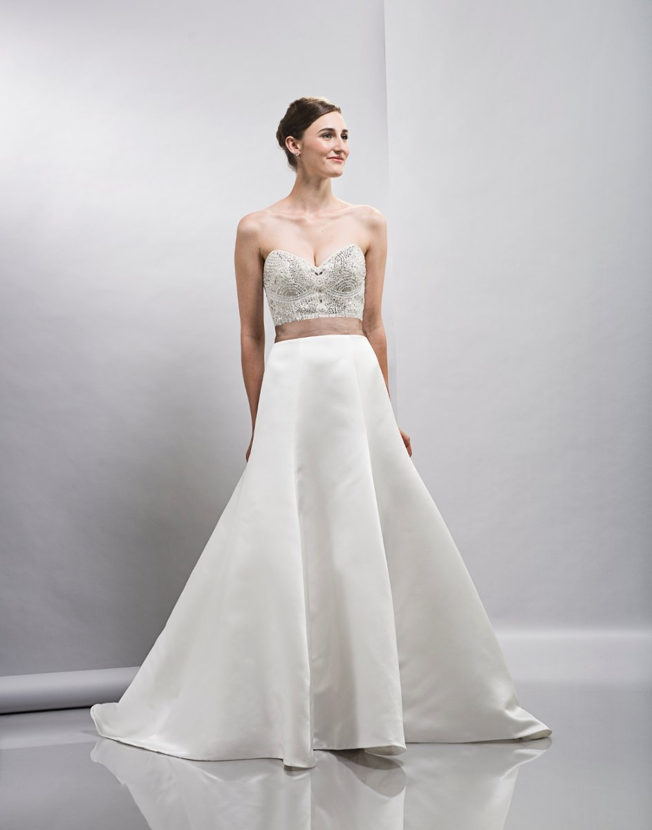 Wedding Dresses, Sweetheart Wedding Dresses, A-line Wedding Dresses, Hollywood Glam Wedding Dresses, Fashion, white, ivory, Spring, Modern, Sweetheart, Strapless, Strapless Wedding Dresses, A-line, Beading, Satin, Floor, Formal, Natural, Sleeveless, Lis simon, Sash/Belt, hollywood glam, Modern Wedding Dresses, Beaded Wedding Dresses, Spring Wedding Dresses, satin wedding dresses, Formal Wedding Dresses, Floor Wedding Dresses, Sash Wedding Dresses, Belt Wedding Dresses