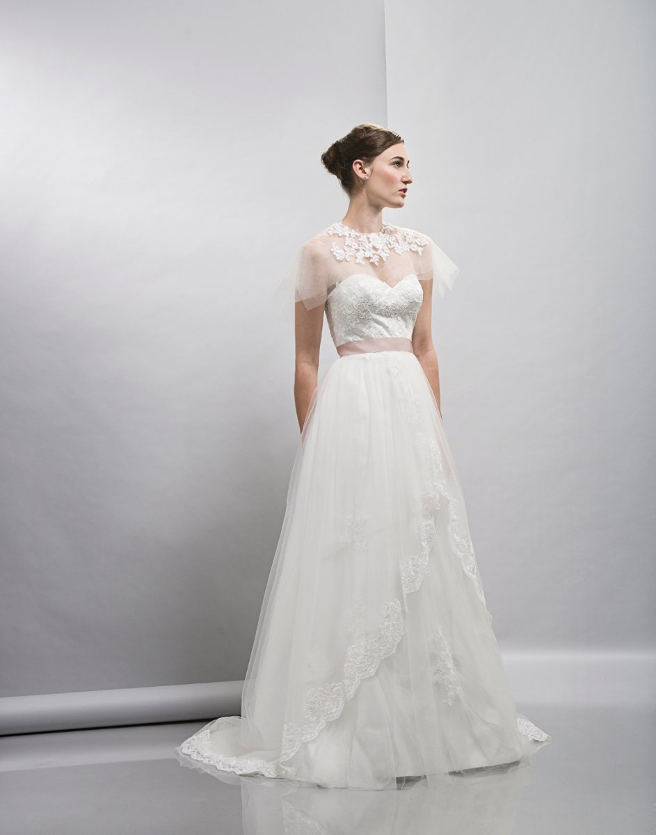 Wedding Dresses, Sweetheart Wedding Dresses, A-line Wedding Dresses, Romantic Wedding Dresses, Fashion, white, ivory, Spring, Classic, Romantic, Sweetheart, Strapless, Strapless Wedding Dresses, A-line, Tulle, Satin, Floor, Formal, Natural, Lis simon, Jacket/Bolero, Spring Wedding Dresses, Classic Wedding Dresses, tulle wedding dresses, satin wedding dresses, Formal Wedding Dresses, Floor Wedding Dresses