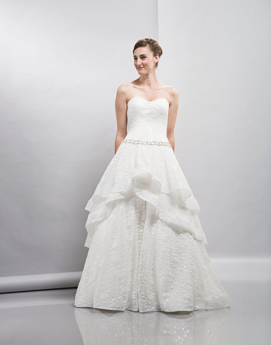 Wedding Dresses, Sweetheart Wedding Dresses, A-line Wedding Dresses, Ball Gown Wedding Dresses, Lace Wedding Dresses, Fashion, white, ivory, Spring, Modern, Lace, Sweetheart, Strapless, Strapless Wedding Dresses, A-line, Floor, Formal, Natural, Tiers, Pick-ups, Sleeveless, Ball gown, Lis simon, Modern Wedding Dresses, Spring Wedding Dresses, Formal Wedding Dresses, Floor Wedding Dresses, Tiered Wedding Dresses