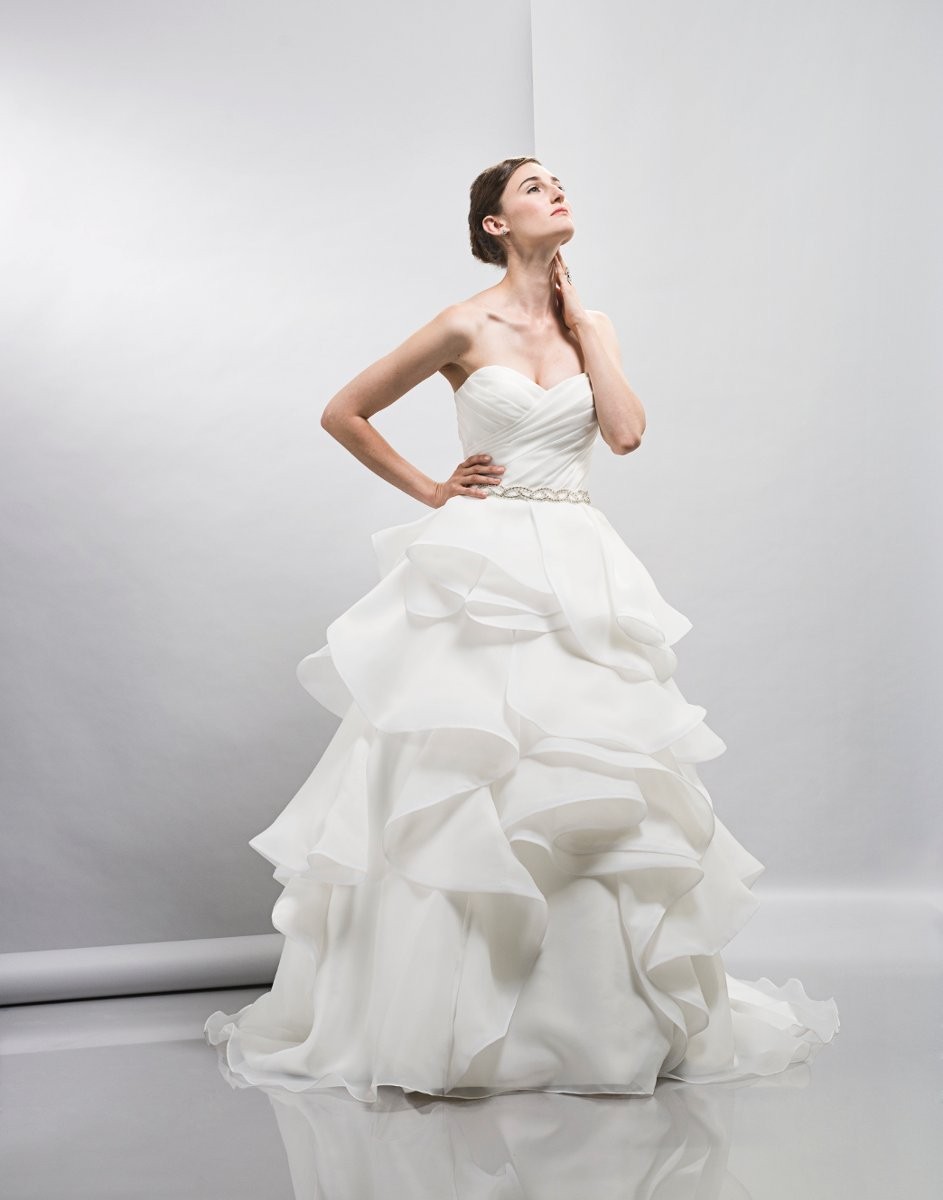Wedding Dresses, Sweetheart Wedding Dresses, Ball Gown Wedding Dresses, Ruffled Wedding Dresses, Romantic Wedding Dresses, Hollywood Glam Wedding Dresses, Fashion, white, ivory, Spring, Modern, Romantic, Sweetheart, Strapless, Strapless Wedding Dresses, Floor, Organza, Natural, Ruffles, Tiers, Sleeveless, Ball gown, Lis simon, Sash/Belt, hollywood glam, Modern Wedding Dresses, organza wedding dresses, Spring Wedding Dresses, Floor Wedding Dresses, Sash Wedding Dresses, Belt Wedding Dresses, Tiered Wedding Dresses