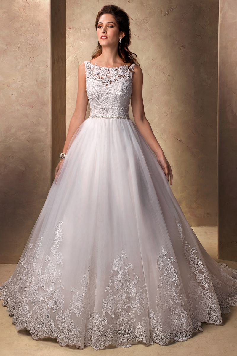 Wedding Dresses, Sweetheart Wedding Dresses, Ball Gown Wedding Dresses, Lace Wedding Dresses, Fashion, Lace, Sweetheart, Tulle, Maggie Sottero, Sleeveless, Ball gown, bateau, Bateau Wedding Dresses, tulle wedding dresses