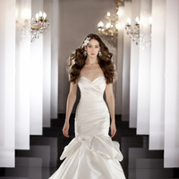 Wedding Dresses, Fit and flare, Martina Liana, dropped waist, bridal fashion