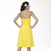 Yellow Bridesmaids Dress by Me Too!