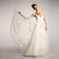 Wedding Dresses, Sweetheart Wedding Dresses, A-line Wedding Dresses, Ball Gown Wedding Dresses, Fashion, Modern, Sweetheart, Draping, Strapless, Strapless Wedding Dresses, A-line, Organza, Silk, Flowing, Ruched, Ball gown, Modern Wedding Dresses, organza wedding dresses, Nordstrom Wedding Suite, nouvelle amsale, Silk Wedding Dresses